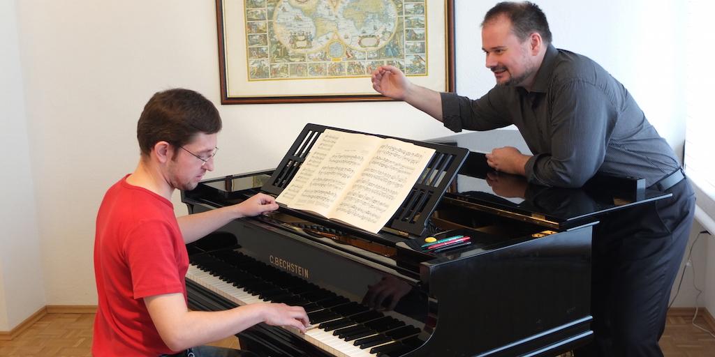 Torsten Eil, Konzerte und Klavierunterricht